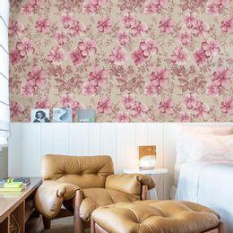 papel-de-parede-floral-delicado-tons-pasteis-rosa-claro
