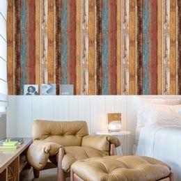 papel-de-parede-madeira-demolicao-colorida-vermelho-e-azul