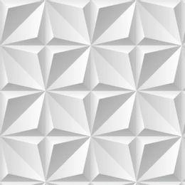 papel-de-parede-geometrico-efeito-visual-3d
