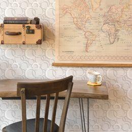 papel-de-parede-geometrico-circulos-3D