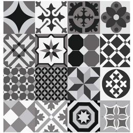 papel-de-parede-azulejo-preto-e-tons-de-cinza