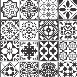 papel-de-parede-azulejo-preto-e-branco