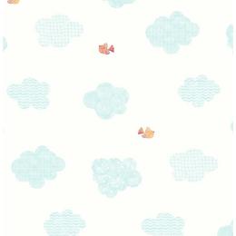 papel-de-parede-nuvens-e-passarinhos